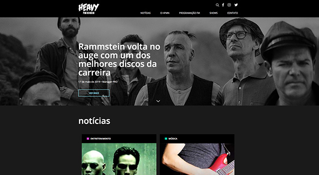 Heavy Pero No Mucho - Projeto Hawkz